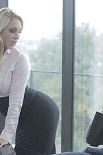 Curvy Secretary Victoria Summers Gets Fucked By Her Boss 01