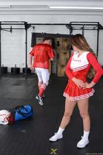 Horny And Busty Cheerleader Gets Fucked 02