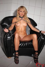 Blonde Fucked With A Dildo 00