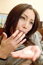 Nozomi Mashiro Asian Pornstar Swallows 11