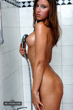 Diana Takes A Hot Shower 08
