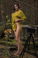 Dakota Naked In The Dark Forest 05
