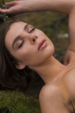 Dakota Naked In The Dark Forest 11