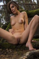 Dakota Naked In The Dark Forest 13