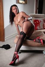 Ebony Pornstar Harley Dean 12
