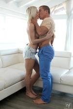 Horny Blonde Teen Azazai Makes Love 00