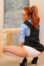 Busty Redhead Schoolgirl 04
