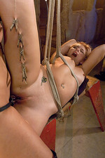 Isis enjoys her stimulatiion with electricity 11