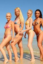 Absolutely perfect bikini models