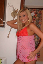 Bikini blonde gfs sexy poses 04
