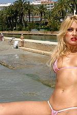 Daring bikini babe 12