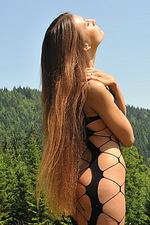 Emilia Sky long hair teen in swiss alps 12
