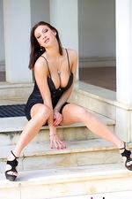 Selena - Black Tight Dress 00