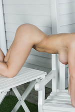 Busty Evita Lima Poses Nude 17
