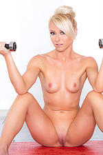 Krystal Shay Naked Workout 13