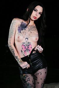 Splish Splash Sierra Tattooed Hottie