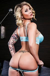 Daisy Monroe Busty Tattooed Slutty Babe