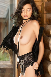 Exotic Playmate Edena Rya