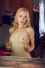 It's Hot In The Kitchen When Stunning Blonde Maria Rubio Is In A Flirtatious Mood 06