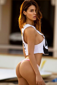 Lovely Glam Model Silvia Caruso